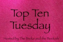 Top ten Tuesday pink