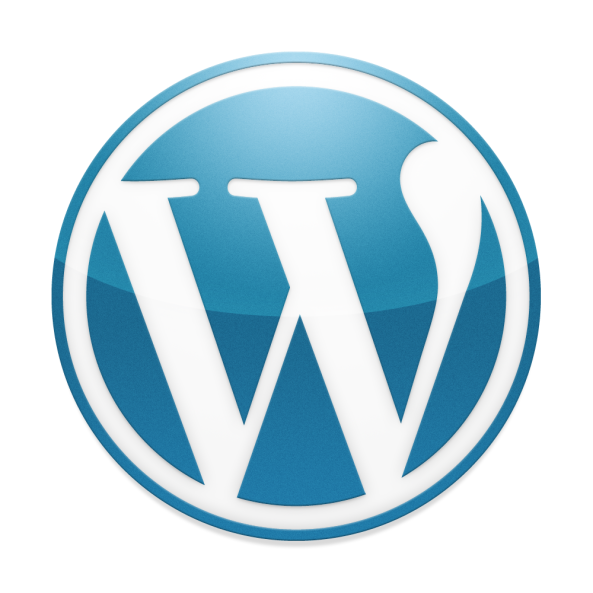 blue-wordpress-logo