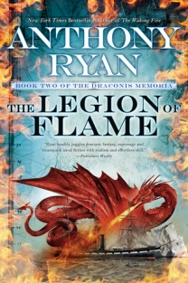 [June 27, 2017] Legion of Flame by Anthony Ryan